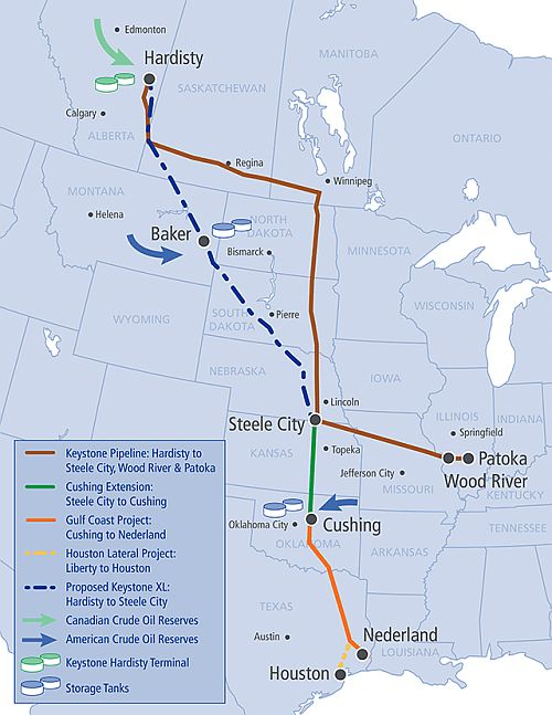 keystone-xl-pipeline-route-map